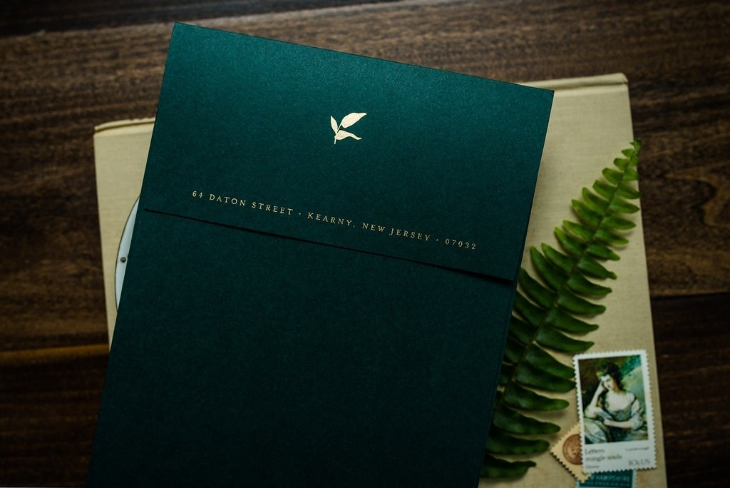FOREST FLORAL WEDDING INVITATIONS PHOTO 5