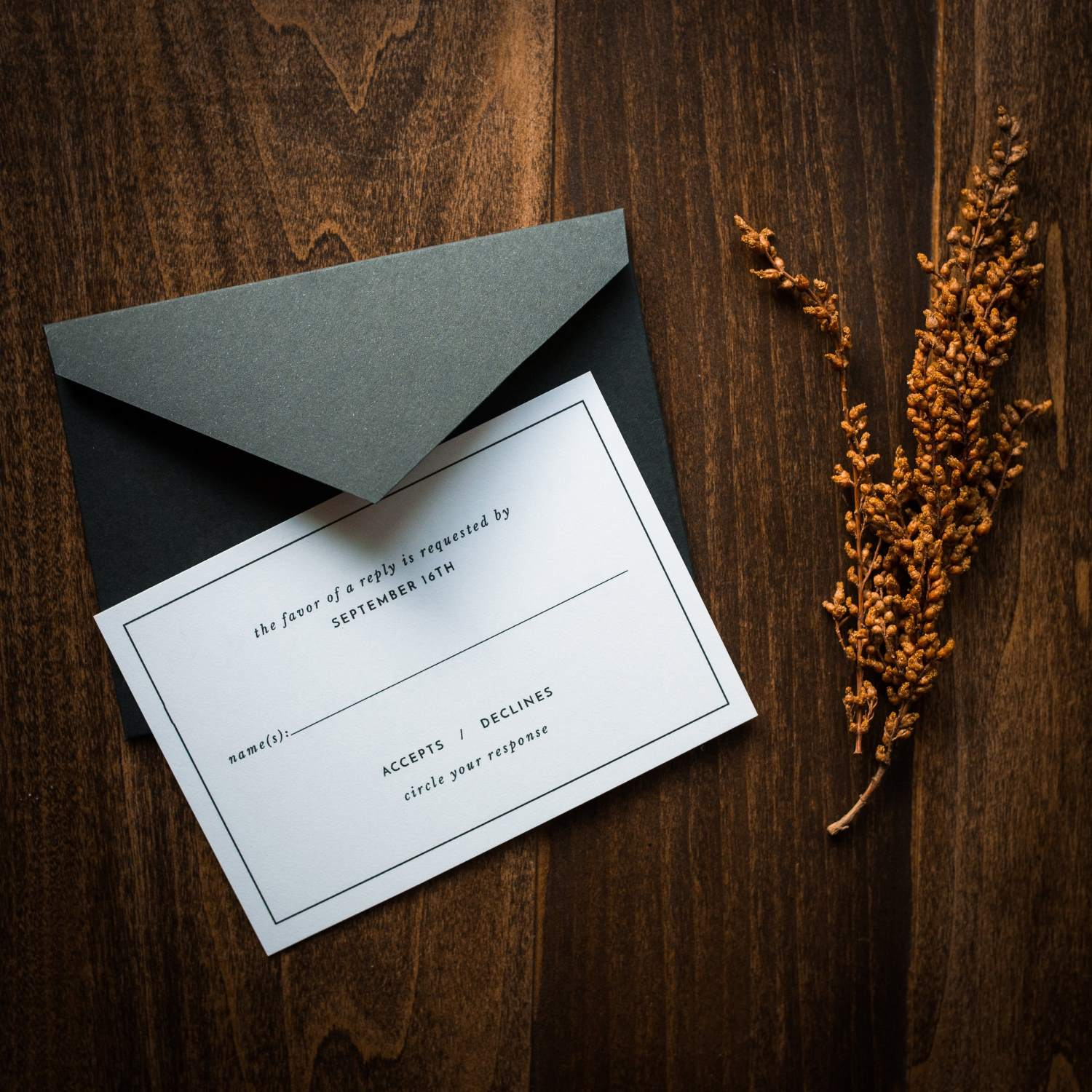 MODERN ORIGAMI WEDDING INVITATIONS PHOTO 5