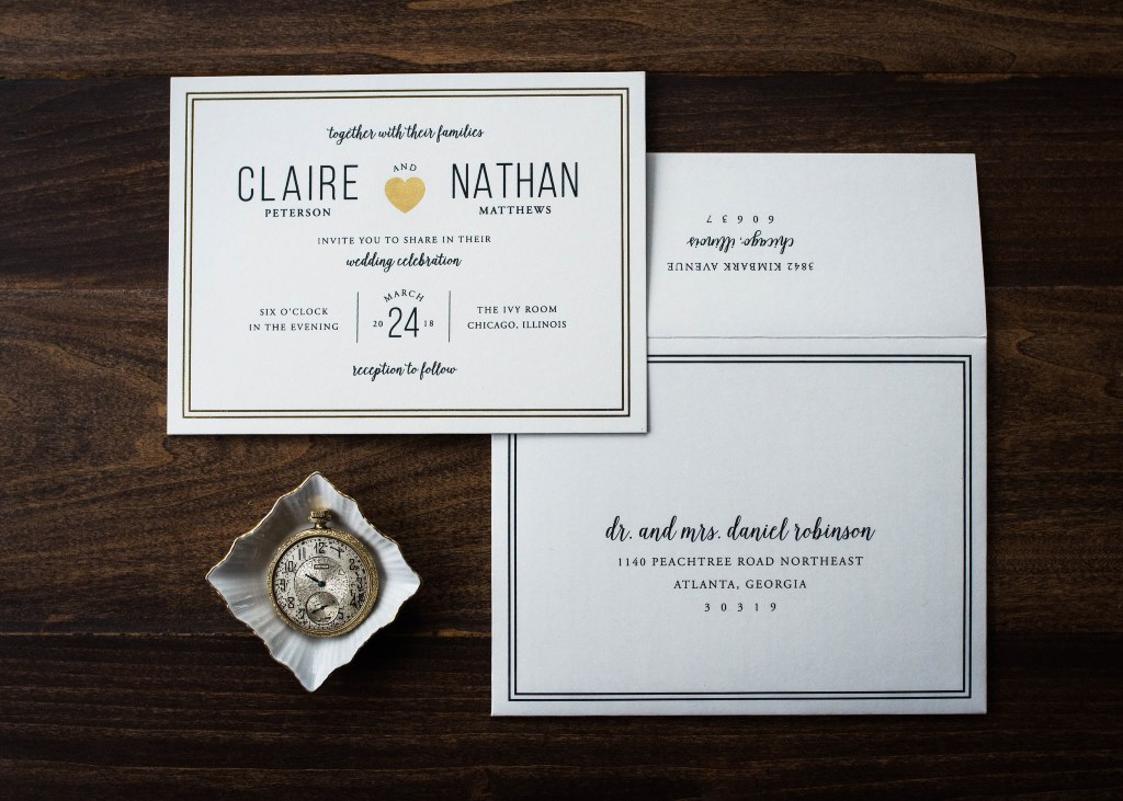 SHINING HEART WEDDING INVITATIONS PHOTO 2