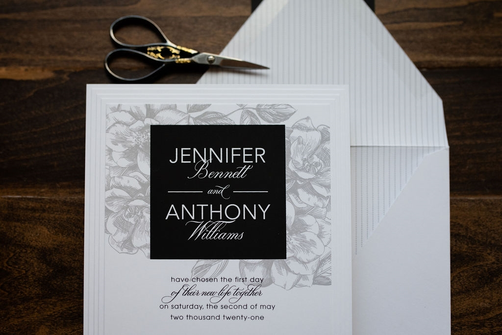 LOVELY LAYERS WEDDING INVITATIONS PHOTO 2